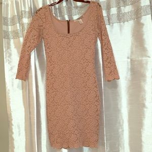 Pink lace forever 21 dress